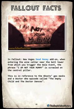 Doctor Who easter egg in Fallout: New Vegas