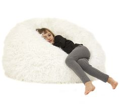 Your kids will love snuggling into this plush faux fur beanbag! The Snow White Junior Faux Fur Bean Bag is loved by boys and girls of all ages. White Fur, Snow White, Faux Fur Bean Bag, Kids Bean Bags, Snuggles, Playroom, Bean Bag Chair, Boy Or Girl