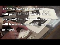 Collagraph Deveolpment and Printing - YouTube I like this video because it goes into lots of detail on the process of printing both Intaglio and relief printing with a collagraph.