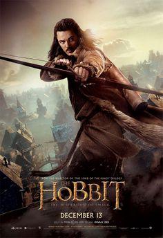 Un nuevo cartel de El Hobbit: La Desolación de Smaug, Bardo
