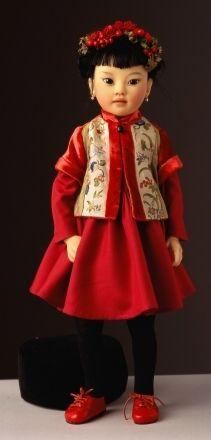 Heloïse - poupées de collection  Lola#1 ~Via Ingrid Summa