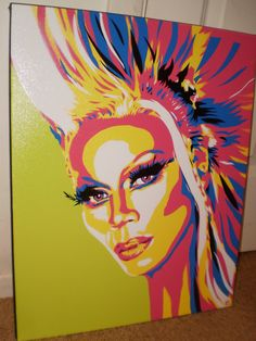 RuPaul by AlexColejr on Etsy