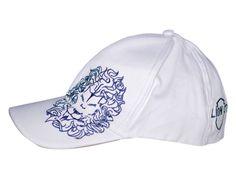Weisses Baseball Cap