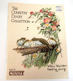 The Country Cross Stitch Diary Collection  by SandysSupplyAttic, $4.00