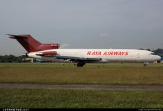 9M-TGG (CN: 21699) Raya Airways Boeing 727-247(Adv)(F) former Transmile..