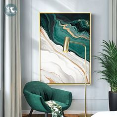 Modern Abstract Gold foil lines Green Canvas Art Paintings For Living Room Bedroom Posters And Prints Wall Poster Home Decor – Linh's Corner Home Poster, Poster Wall, Home Decor Paintings, Home Decor Wall Art, Art Paintings, Green Canvas Art, Green Wall Art, Gold Wall Art, Bedroom Posters