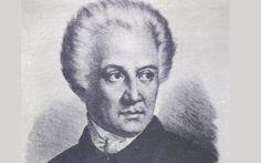 Dionysios Solomos, the poet of the Greek national anthem.