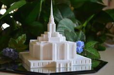 Include temples, as part of table decorations. Ogden Utah Temple Model - Ogden UT Temple Statue - Cake Topper - Centerpiece - LDS Temple - Mormon Temple