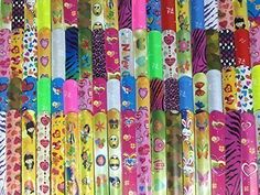 "Gingerscoolstuff 35 Slap Bracelets. Kids Boys Girls Party Favors. Assorted Prints. Over 8"". Storage Tube Included. Gingerscoolstuff http://www.amazon.com/dp/B011CBQLN0/ref=cm_sw_r_pi_dp_7yBbxb1R48G56"
