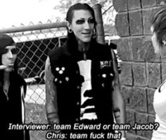 Team Edward or team Jacob? Motionless in white