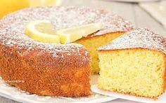 Torta senza bilancia al limone sofficissima e profumata