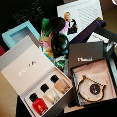 Rachel Zoe's Box of Style is for the girl that wants to spoil herself! A subscription costs $99.99 for each season or $349.99 for the year (that's 4 boxes a year, and each box will have over $400 worth of items). With the subscription, you will receive fashion, beauty, and lifestyle items in order for you to be on-trend for the entire season, thanks to the styling guru, Rachel Zoe! Go to www.boxofstyle.thezoereport.com to subscribe.