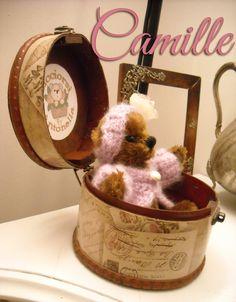 Cicciorsi by Antonella's bears: Camille