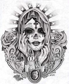 dia de los muertos art #NoelitoFlow please repin & like, listen to Noelito Flow Music. Thank You ,https://www.twitter,com/noelitoflow