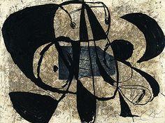 Joan Miró,    Commedia dell'Arte VI, 1979,     Eau-forte,     30 exemplaires numérotés et signés sur vélin d'Arches 56,5 x 76 cm