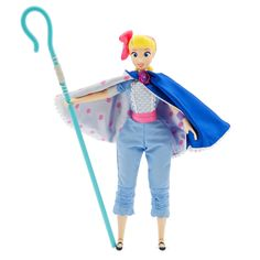 Our Bo Peep interactive talking action figure is inspired by her appearance in Toy Story The self-assured shepherdess features more than 10 phrases, and a few more when she detects another Toy Story interactive figure nearby.