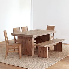 Tradesman Extension Table.  I think this is the one!  With 2 benches and upholstered chairs on the ends