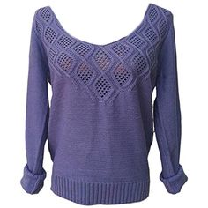 Womens V Neck Stretch Hollow Out Solid Knitted Pullover Sweater * You can find out more details at the link of the image. (This is an affiliate link) #Sweaters