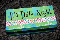 Erratic Project Junkie: Take Me Out Tonight. Part 1 of date night box full of date nights. Have one each week. Marriage Relationship, Happy Marriage, Love And Marriage, Relationships, Successful Marriage, I Love My Hubby, My Love, Dates, Take Me Out