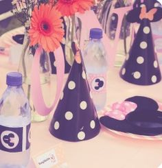 Elegant Kids Organisers treat every aspect of the event from concept to execution with the dedication needed to ensure a stress - free and memorable event. Minnie Mouse Party, Mouse Parties, 1 Year Birthday, Party Themes, How To Memorize Things, Concept, Table Decorations, Elegant, Kids