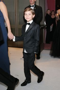 Jacob Tremblay at The Governor's Ball 2016 [Photo: Chelsea Lauren/REX/Shutterstock]