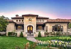 Sophisticated and Classy Mediterranean House Designs Tuscan Home.mediterranean exterior by Stotler Design GroupTuscan Home.mediterranean exterior by Stotler Design Group Tuscan Style Homes, Mediterranean Style Homes, Spanish Style Homes, Spanish House, Mediterranean Architecture, Mediterranean House Exterior, Spanish Colonial, Design Exterior, Exterior Paint