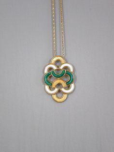 Vintage Christian Dior Necklace // 1973