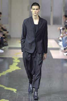 Yohji Yamamoto Men's RTW Spring2016