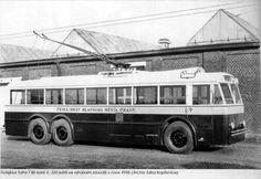 1938 Tatra t86 Trolleybus