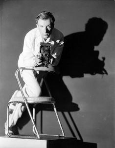 """Cecil Beaton self portrait.  """"Be daring, be different, be impractical, be anything that will assert integrity of purpose and imaginative vision against the play-it-safers, the creatures of the commonplace, the slaves of the ordinary"""" (1904-1980)"""
