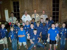 Cub Scout Pack #19 recently visited the Hugh Torrance House and Store - the oldest standing House and Store in North Carolina.