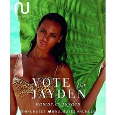#VOTENOW 🍃  For our girl @jaydenrobison to be a part of the @numuses calendar…