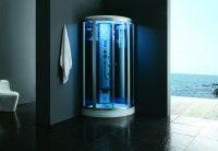 Cabine de hidromassagem com banho turco AG-M9898AL VERSÃO BRANCA  1000*1000*2210mm