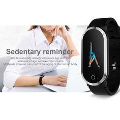T1 Smart Bracelet gold Online Shopping | Tomtop Smartwatch, Apple Technology, Human Body Activities, Ios 8, Smart Bracelet, Heart Rate Monitor, Watch Bands, Exercise, Bracelets