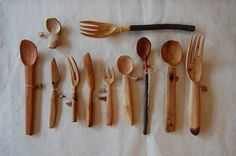 工房かし 木のカトラリー - Google 検索