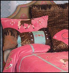 horse bedding for girls Cowgirl Theme Bedrooms, Bedroom Themes, Girls Bedroom, Bedroom Decor, Bedroom Ideas, Horse Bedrooms, Bedroom Inspiration, Western Rooms, Western Theme