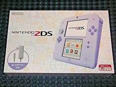 NEW Nintendo 2DS console system LAVENDER PURPLE w/ AC adapter JAPAN not 3DS F/S    eBay
