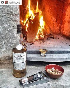 Glenlivet'in isli Nadurra'sı puro sarı leblebi ve ateşin kokusu... #yilbasiviskim oyunumuza bu muhteşem kareyle @millstone_cappadocia dan katılan @fatihkuce ye sonsuz teşekkürler ---- #Repost @fatihkuce with @repostapp  30/12/2016 #yilbasiviskim #whisky #whiskey #cigar #cigarporn #objektifimden #instagramturkey #kapadokya #cappadocia #life #love #turkey