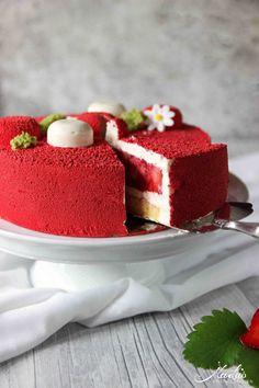 Erdbeer-Vanille Torte - Fraisier de Cyril Lignac
