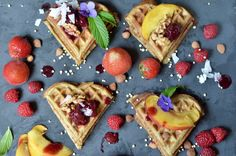Looking for a gluten free waffle recipe? These easy Paleo-friendly waffles are grain and nut free and naturally sweetened with bananas. Old Recipes, Waffle Recipes, Clean Recipes, Real Food Recipes, Paleo Banana Waffles, Paleo Breakfast, Breakfast Recipes, Brisbane Food, Nut Free