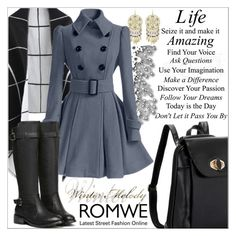 """Romwe 9."" by selmagorath ❤ liked on Polyvore featuring moda, women's clothing, women's fashion, women, female, woman, misses e juniors"
