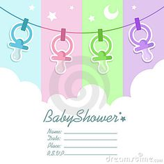 Baby Shower Invitation Letter New Baby Shower Invitation  Baby's Ideas  Pomysły Dziecięce .