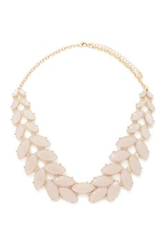 Faux Gem Statement Necklace | Forever 21 Canada