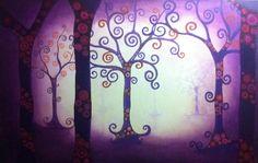 Oil trees Art Work, My Arts, Trees, Oil, Canvas, Painting, Artwork, Tela, Work Of Art