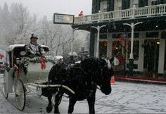 For a small town Christmas, there is no better destination than Nevada City, California and its annual Victorian Christmas celebration.