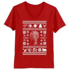 All I Want for Christmas is Westeros - Men's V-Neck T-Shirt