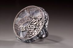 "Rei Harada : ""don't look at what I do. see what I see."" series 2007  ring  2007  sterling silver"