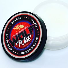 #Wolfwax is made with coconut oil agron oil and vitamin e. Made for waves  beards and bald heads .  All products available at @barbernomics.com #barber  #stylist  #MUA  #TheSocialBarber #barbers #hairstylists #barbershop #hairsalon #socialmedia #behindthechair #aveda #thecutlife #barberlove #to #cosmetologist #instanails # #barberstylists #PaulMitchell #BronnerBros #hairstylist #charlotte #barbersinctv #Barbershopconnect #barbersince98 #beautifulbarbers #nastybarbers#thecutlife #effenvodka…