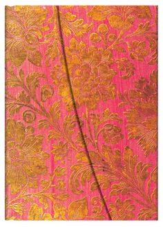 Golden Fuchsia, from Paperblanks' Brocaded Paper collection of writing journals
