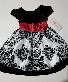 5a91e2a876fea Christmas holiday toddler girl fancy party dress 3T Jona Michelle  BoutiqueNWT #JonaMichelle #Party Toddler